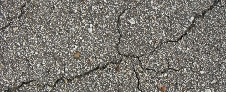Cracks in pavement: Why are there cracks in my patio?
