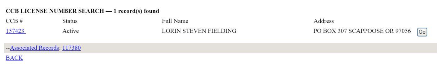 screenshot of inexpensive tree care license