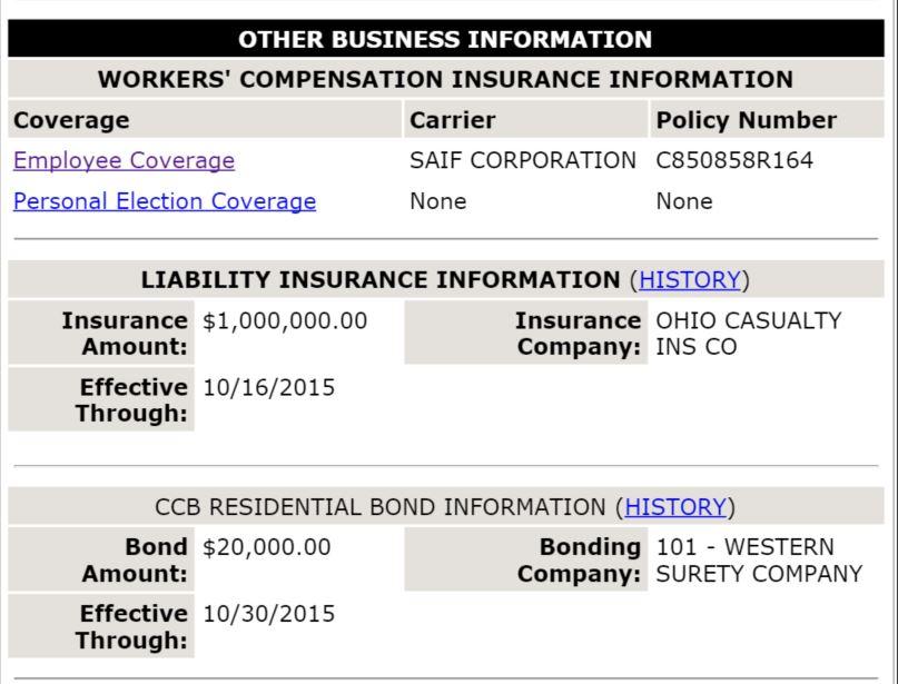 Wokers' Comp Insurance Oregon